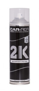 Spraypaint Car-Rep 2K Jet Black RAL9005 500ml