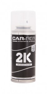 Spraypaint Car-Rep 2K Jet Black RAL9005 150ml