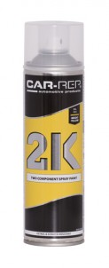 Spraypaint Car-Rep 2K Bright Yellow RAL1021 500ml