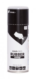 Spray RUBBERcomp Car-Rep Black semigloss 400ml