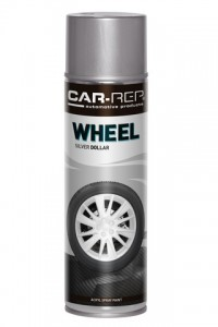 Spraypaint Car-Rep Wheel Silver Dollar Acryl 500ml