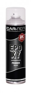 Spraypaint Car-Rep 2K EPOXY Primer Black 500ml