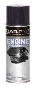 Spraypaint Car-Rep Engine Black 400ml