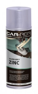 Spray Car-Rep Aluminium Zinc 400ml