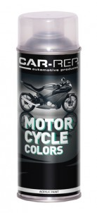 Spraypaint Car-Rep Motorcycle Black glossy 400ml